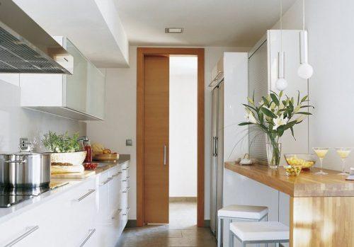 Qu tipo de puertas de paso es la mejor opci n para la - Puerta abatible cocina ...