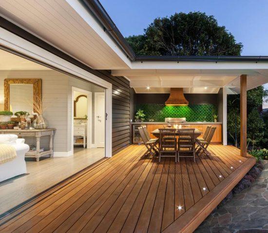 Resistencia y belleza en los muebles de madera para exterior - Muebles exterior madera ...