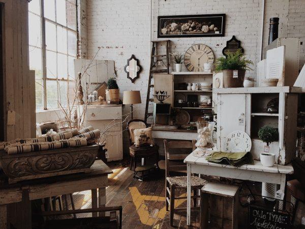 Decoración vintage con muebles de madera - Ddk Interiores
