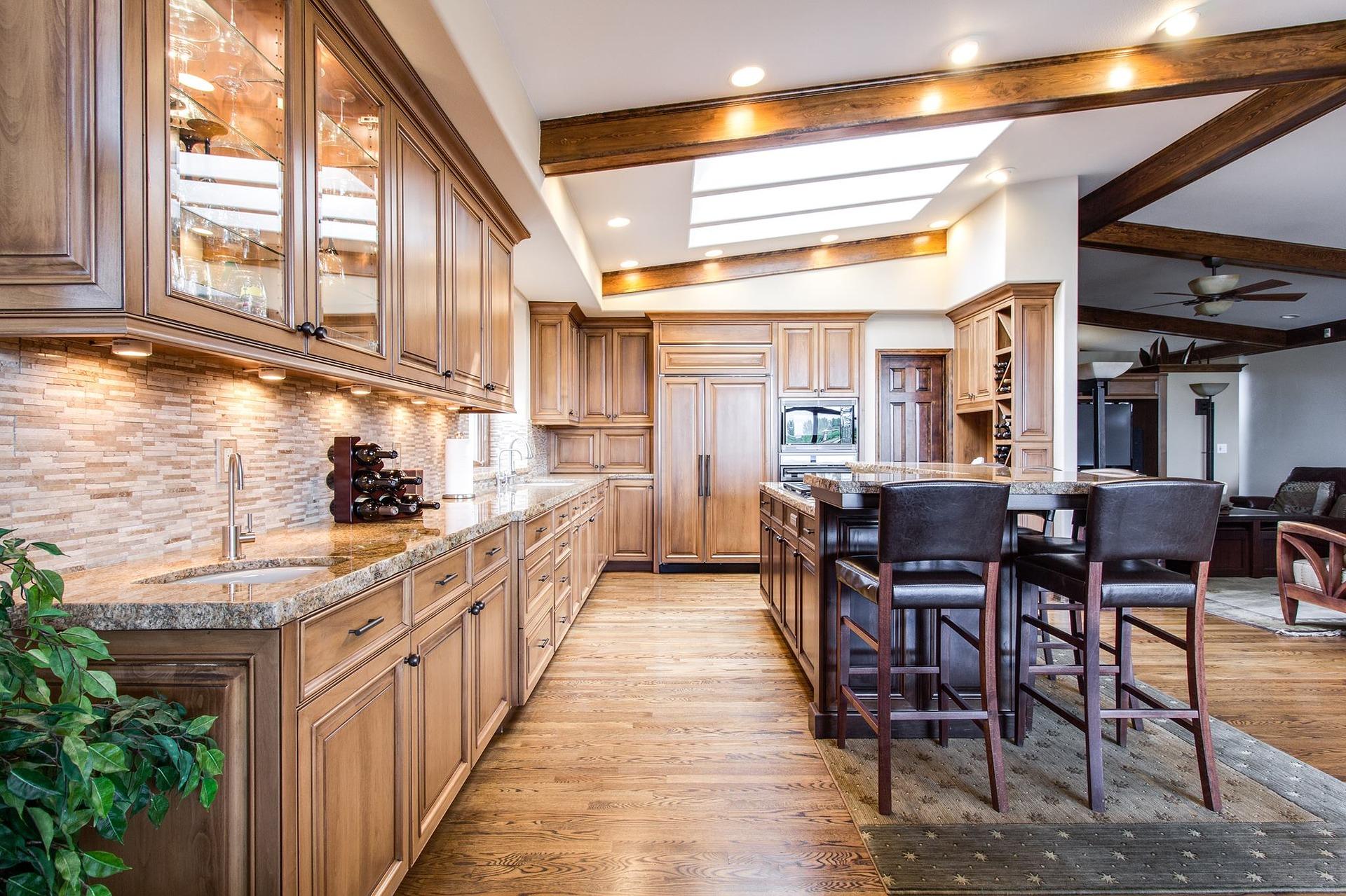 Renueva tus muebles de madera y tendrás una nueva cocina - Ddk Interiores